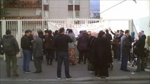 Centre d'Action Sociale du 10ème: manifestation contre les expulsions