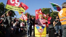 Mobilisation réussie pour la bourse du travail de Bobigny