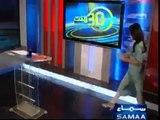 SEXY Pakistani news anchor Gharida Farooqi in white leggings and high heels Watch New Video