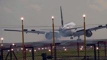 Crosswind Landings Heavy Jets Emirates 777 Pakistan 777