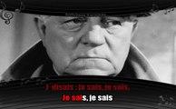 Karaoké Jean Gabin - Maintenant je sais