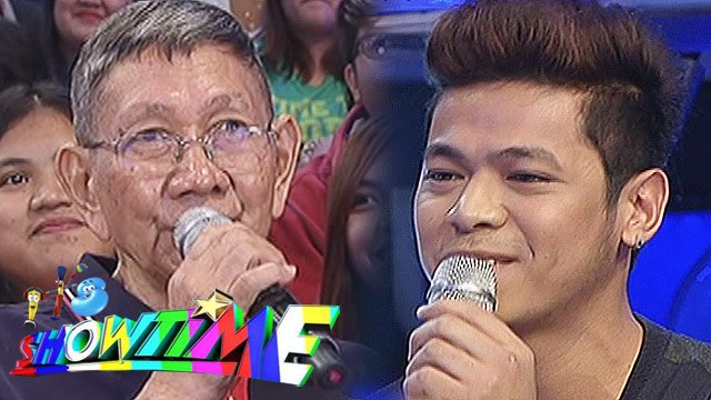 It's Showtime: Lolo Pastillas asks Topher how he will take care of Ms  Pastillas