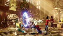 Street Fighter V R Mika Reveal Trailer - DailyMotion (1080p)