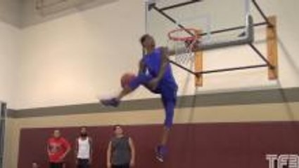 Guy Dupuy GOES OFF in Dunk Session