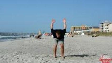 Beach Workout for Basketball - Part 1