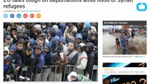 EU Talks Tough On Deportations Amid Flood Of Syrian Refugees