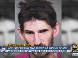 Accused peeping tom busted at Phoenix school