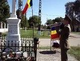"""""""Treceţi, batalioane române, Carpaţii! La arme cu frunze şi flori, V-aşteaptă izbânda, v-aşteaptă şi fraţii Cu inima la trecători"""" La comemorarea Eroilor Neamului din localitatea Voiteg, cu militarii Brigăzii 18 infanterie """"Banat"""""""