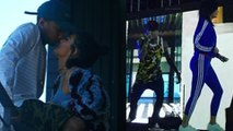 Aww! Tyga Drags Kylie Jenner On Stage During Performance