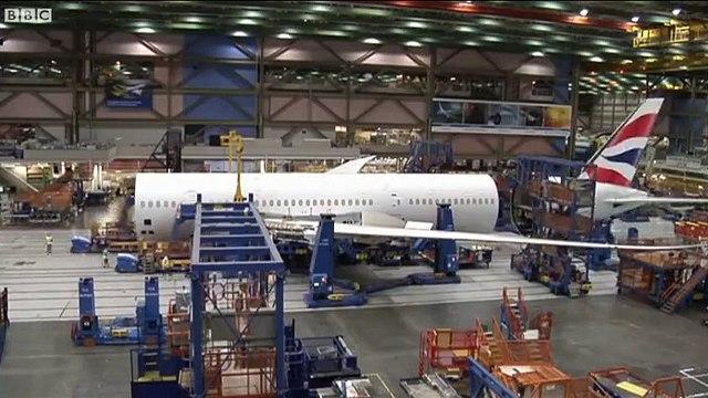 Inilah cara pembuatan pesawat Boeing 787-9 Dreamliner dalam video timelapse