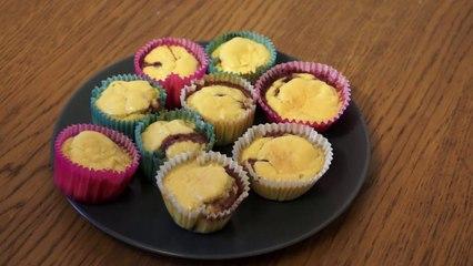 Recette facile et rapide des muffins allégés coco framboise - Clickncook.fr
