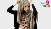 Tutorial Hijab Paris Segi Empat Spesial _Idul Fitri_ ◄Trend Hijab Lebaran 2015 Instan dan Praktis