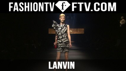 Lanvin Spring/Summer 2016 Collection at Paris Fashion Week | PFW | FTV.com