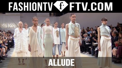 Allude Spring 2016 Ready-to-Wear at Paris Fashion Week | PFW | FTV.com