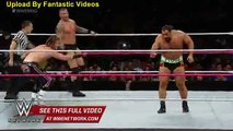 Dolph Ziggler gets his crack at Rusev - Live from MSG_ Lesnar vs. Big Show WWE Wrestling On Fantastic Videos