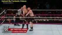 Brock Lesnar takes the giant to suplex city - Live from MSG_ Lesnar vs. Big Show WWE Wrestling On Fantastic Videos