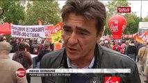 Air France : « Aujourd'hui on nous parle d'une chemise, on voudrait bien qu'on parle aussi des salariés qui vont perdre leur pantalon » lance Mehdi Kemoun de la CGT Air France