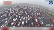 Le plus grand embouteillage du monde ! - Le rewind du jeudi 8 octobre.