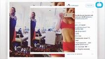 Kate Hudson Shows Off Fabletics Underwear on Instagram