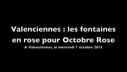 Octobre Rose à Valenciennes