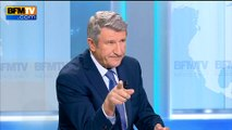 """Philippe de Villiers: """"Je ne veux pas que la France devienne la fille aînée de l'islam"""""""
