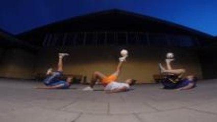 Football Freestyle In Helsingborg