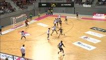 Hand féminin : Brest Bretagne Handball vs Le Havre (35-13)