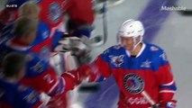 Gifted Athlete Putin Scores 7 Goals in Birthday Hockey Game | Mashable News