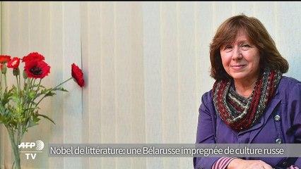 Nobel de llittérature 2015: une Bélarusse a forte culture russe
