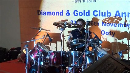 wedding sangeet-drummer  nikhil