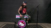 Pro Drummer plays Slayer & Metallica on Hello Kitty Kids Drum Kit