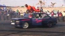 Session de rodéo automobile en Afrique du Sud
