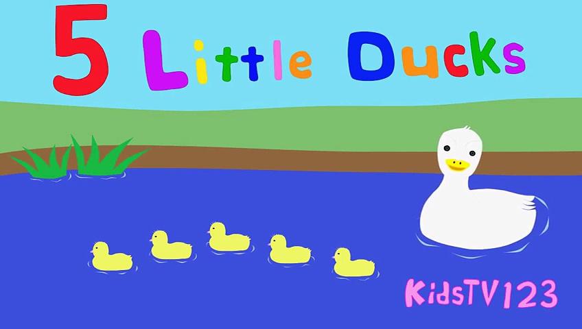 5 Little Ducks – 5 Little Ducks Songs