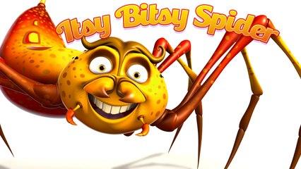 """""""Itsy Bitsy Spider"""" - Nursery Rhymes"""