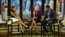 Ariana Grande Interview Live with Kelly and Michael 09/30/15