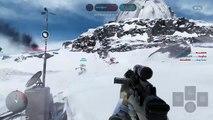 Un gamer se prend un Tie Fighters après l'avoir shooté - Star Wars Battlefront