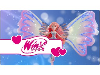 Winx Club - Sirenix Doll - Asas Duplas