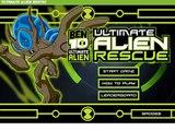 Ben 10 Ultimate Alien Rescue Game Ben 10 Omniverse Games Cartoon Network Games