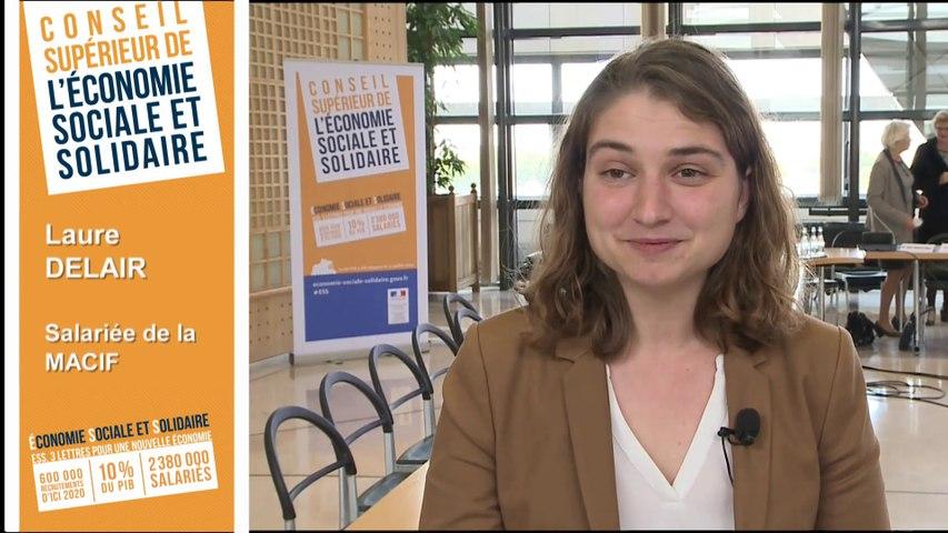 Archive - Conseil supérieur de l'économie sociale et solidaire - Interview de Laure Delair