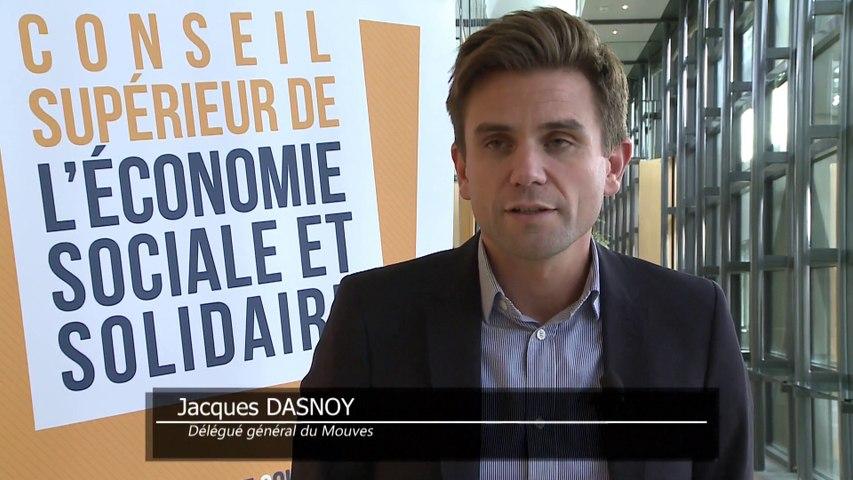 Archive - Conseil supérieur de l'économie sociale et solidaire - Interview de Jacques Dasnoy