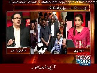 Live With Dr. Shahid Masood - 9th October 2015
