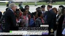 ترحيل عدد من اللاجئين الإرتريين من إيطاليا إلى السويد ضمن اتفاقية الاتحاد الأوروبي بتوزيع اللاجئين