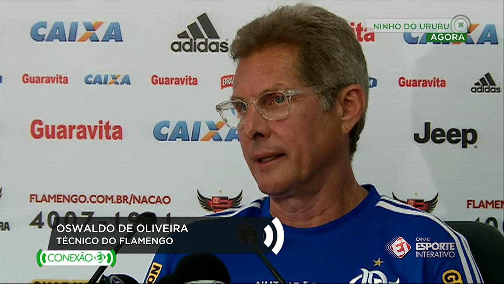 'Obrigação de honrar a camisa do Flamengo', diz Oswaldo de Oliveira sobre levar time titul