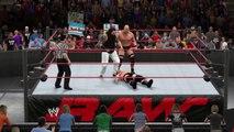 WWE 2K15 jbl v bray wyatt v stone cold steve austin
