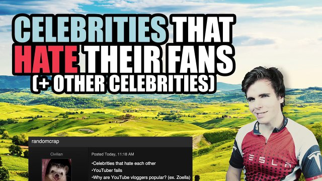 Celebrities That Hate Their Fans (+ Hate Other Celebrities)
