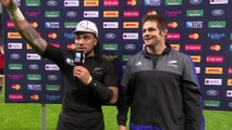 Match reaction: Nonu accepts 100th cap