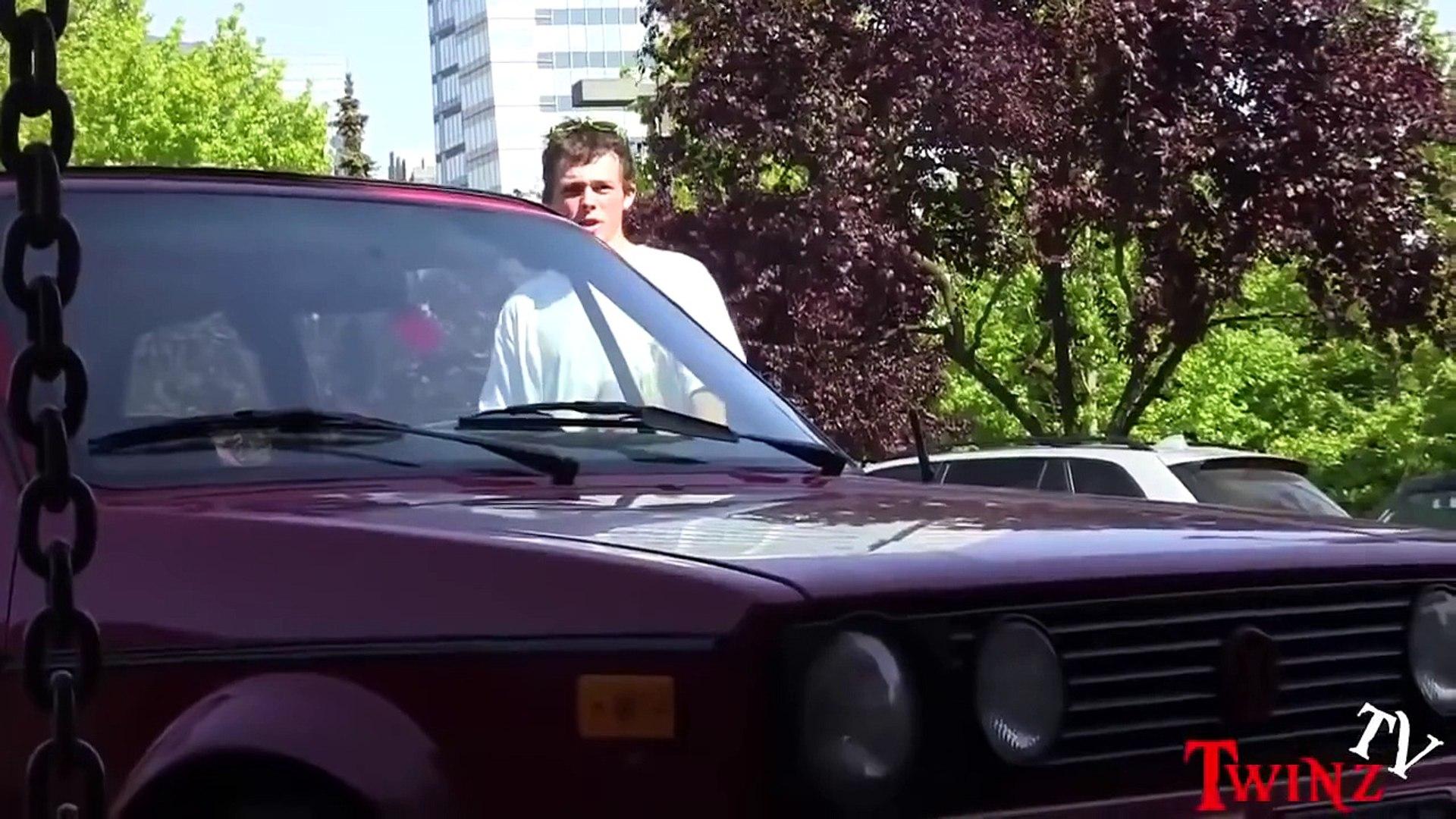 Someone Hit Your Car Prank Car Prank Public Pranks Pranks 2014 Best Pranks Funny Pranks