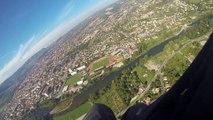 Mon 1er vol en parapente à Millau le 27 septembre 2015.