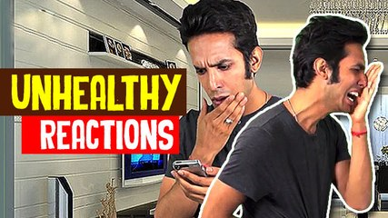 Unhealthy Reactions | Comedy Asia