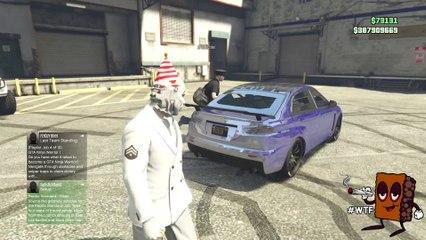 "KINDA NEW GTA 5 GLITCH - ""FUN GOD MODE"" WEAPONS GLITCH AT CUSTOMS. PATCH 1.29 (GTA V GAMEPLAY)"